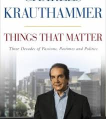 blog inspiration krauthammer